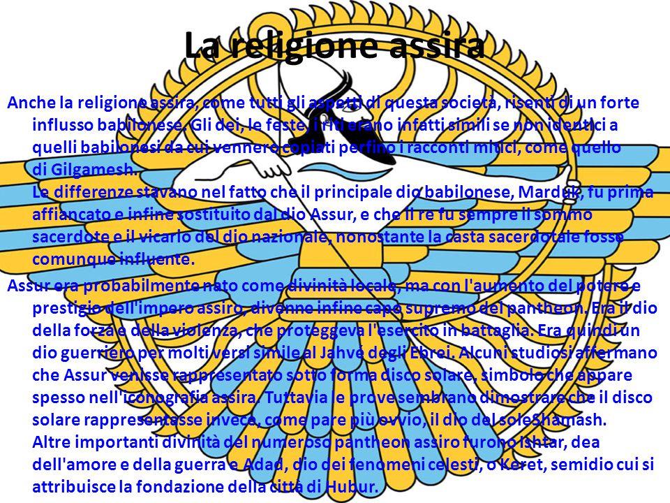 La religione assira