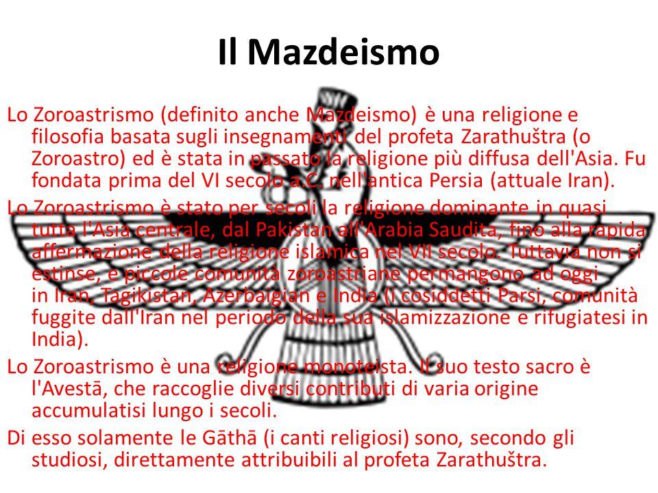 Il Mazdeismo