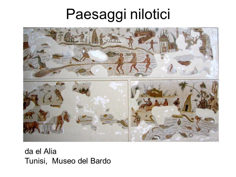 Paesaggi nilotici da el Alia Tunisi, Museo del Bardo