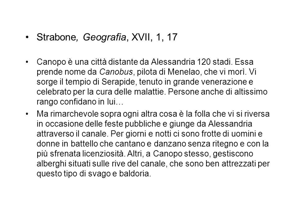 Strabone, Geografia, XVII, 1, 17