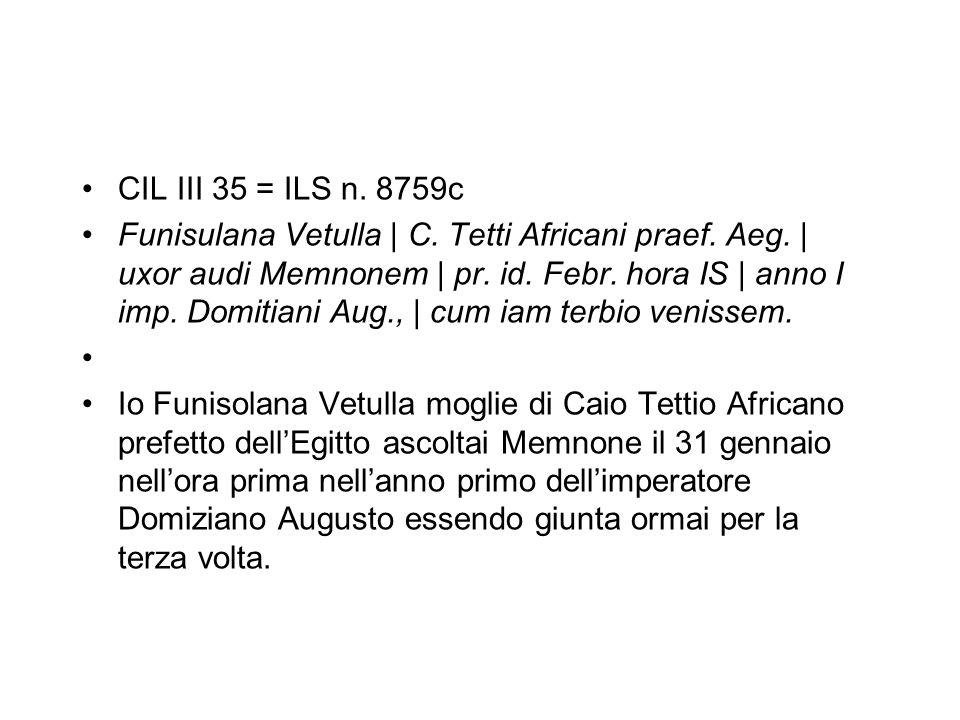 CIL III 35 = ILS n. 8759c