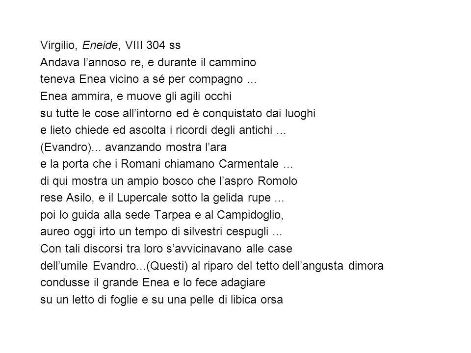 Virgilio, Eneide, VIII 304 ss
