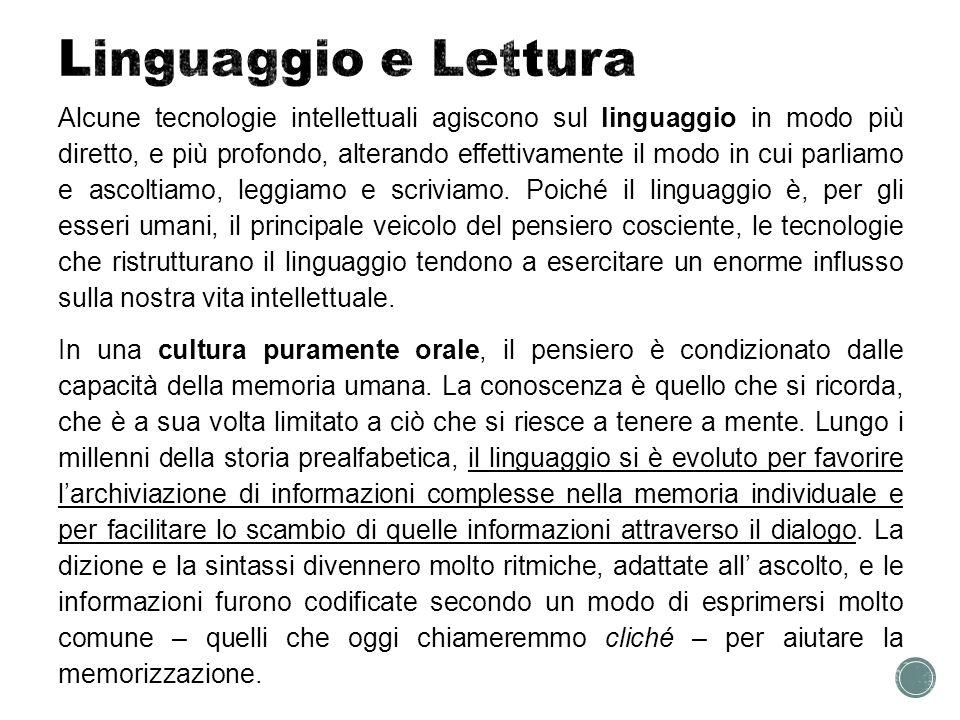 Linguaggio e Lettura