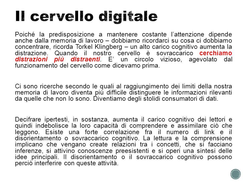 Il cervello digitale