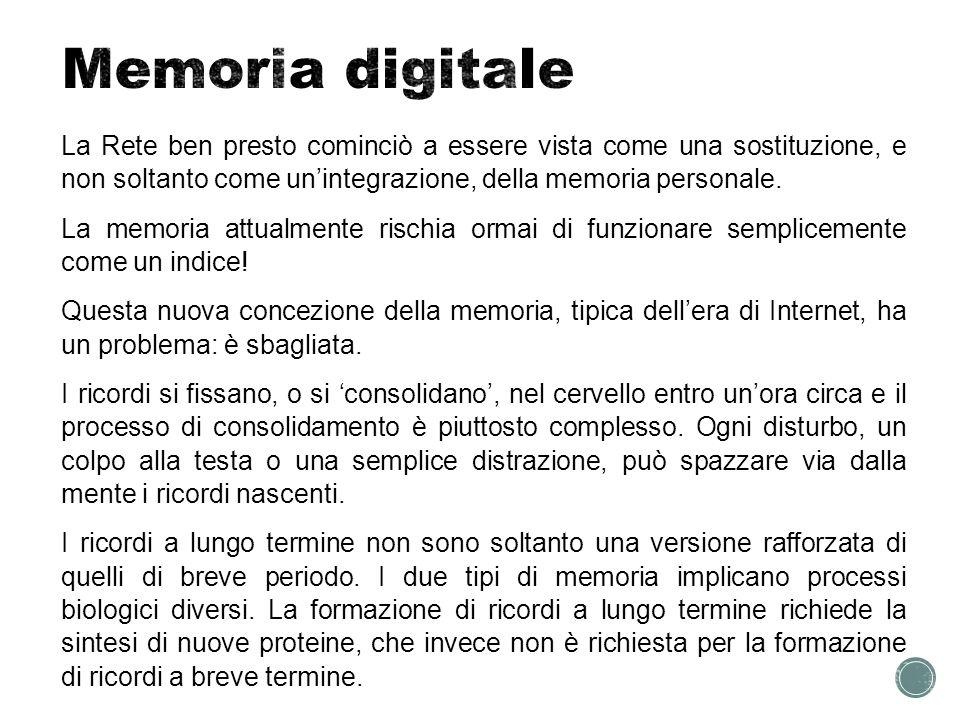 Memoria digitale