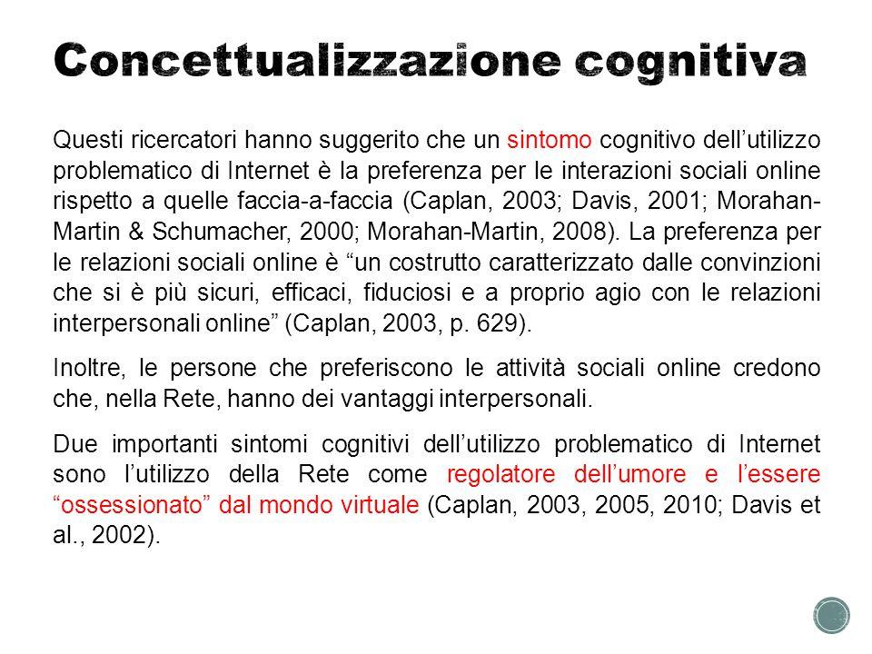 Concettualizzazione cognitiva