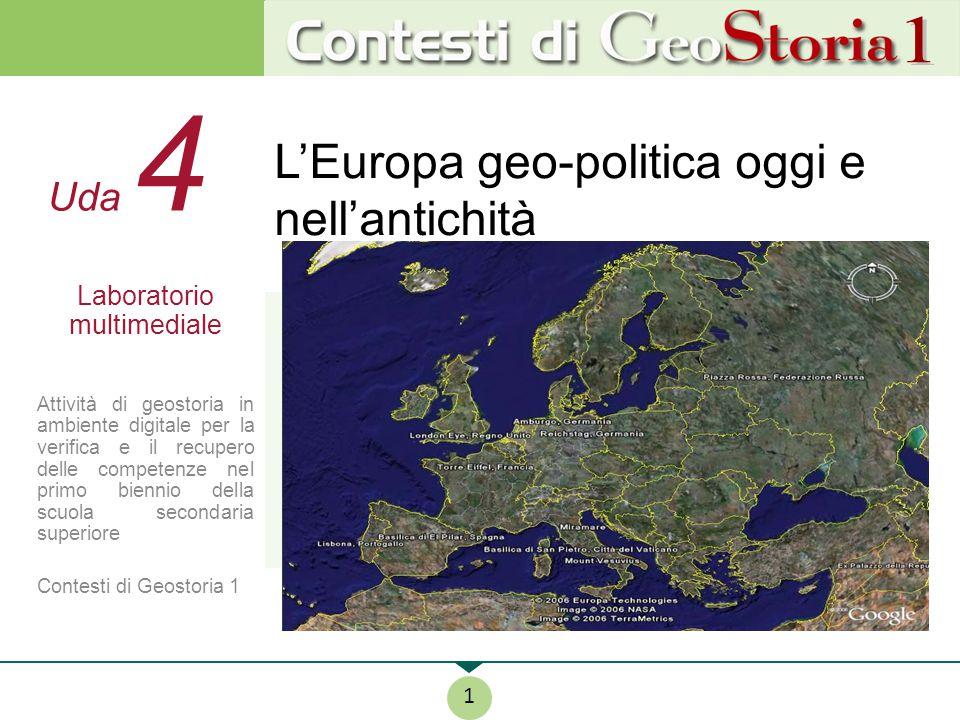 L'Europa geo-politica oggi e nell'antichità