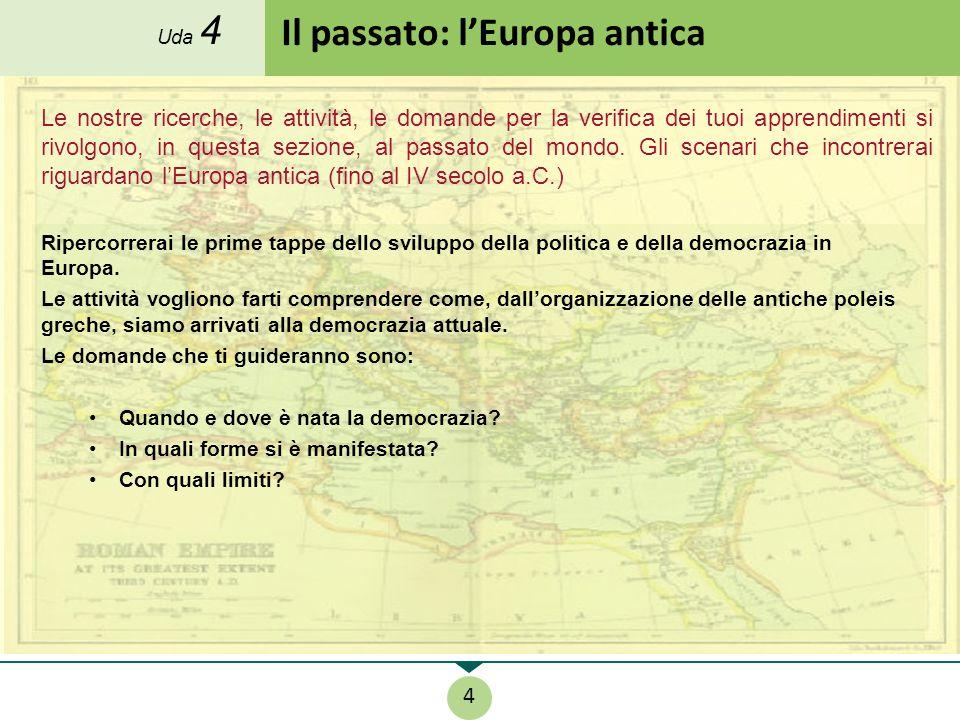 Il passato: l'Europa antica