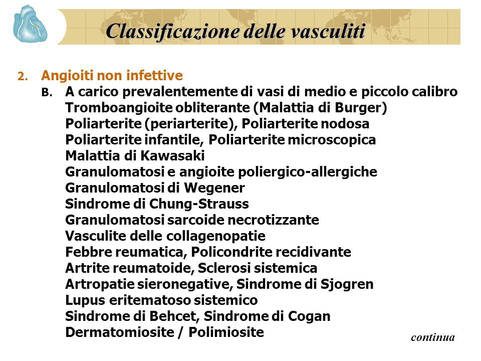 Classificazione delle vasculiti