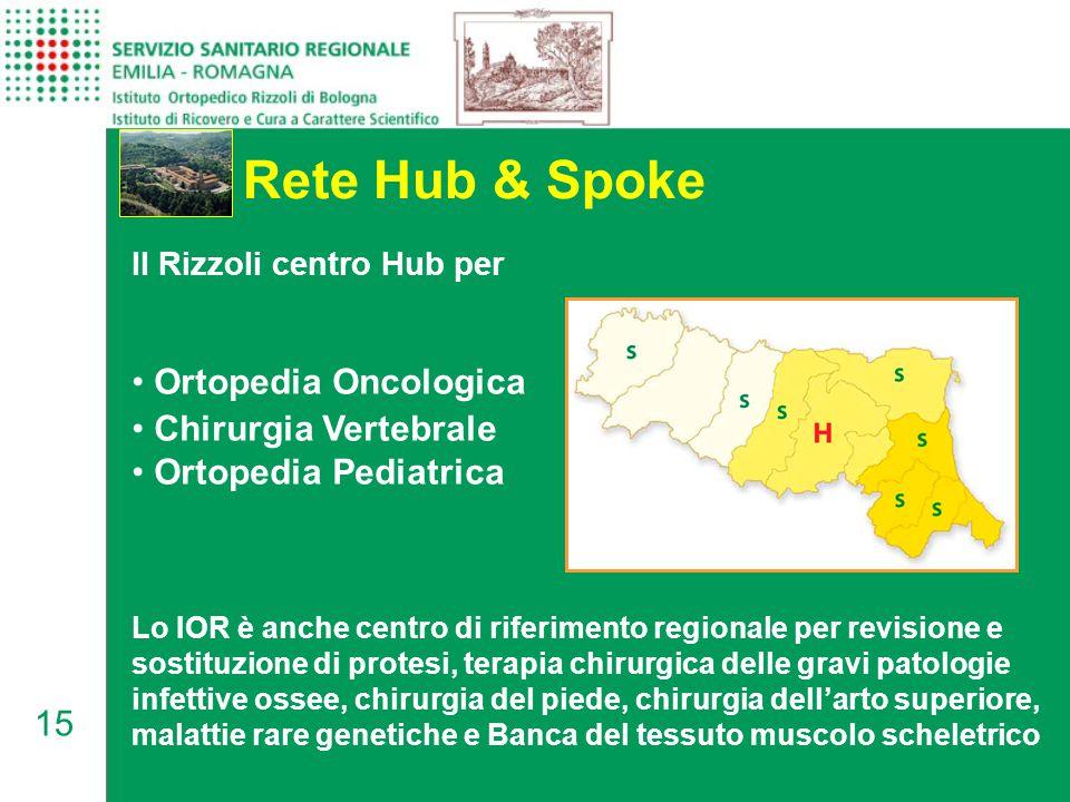 Rete Hub & Spoke Ortopedia Oncologica Chirurgia Vertebrale