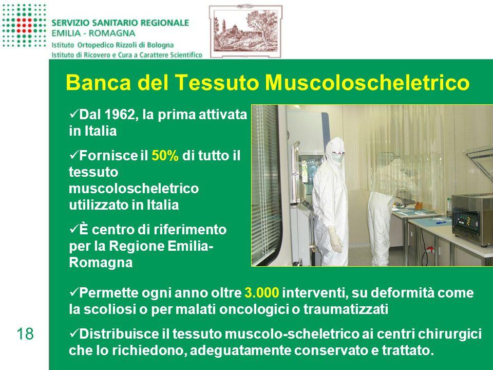 Banca del Tessuto Muscoloscheletrico