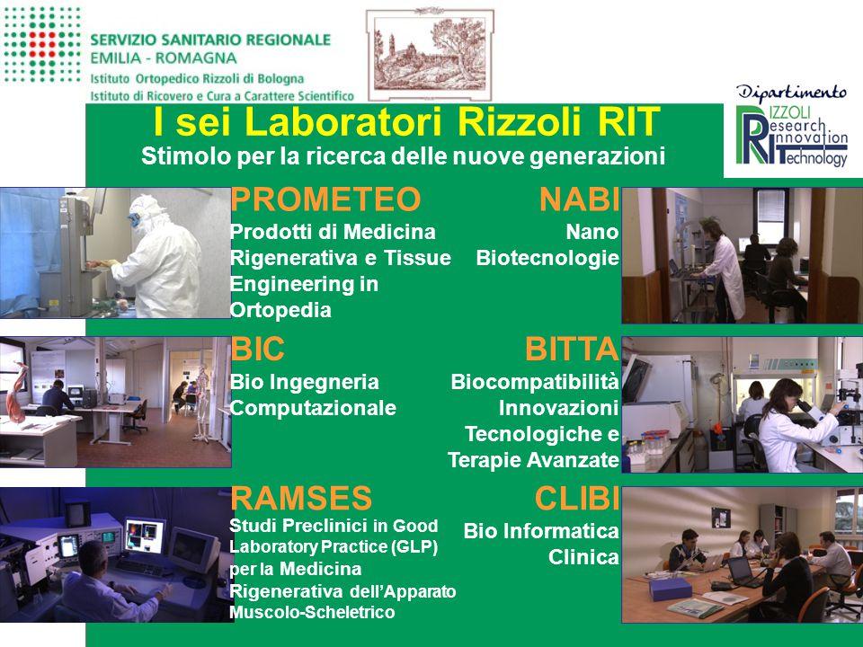I sei Laboratori Rizzoli RIT