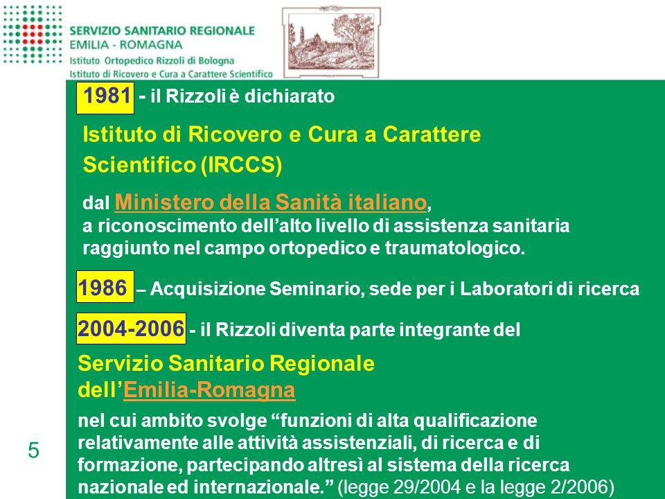 1981 - il Rizzoli è dichiarato