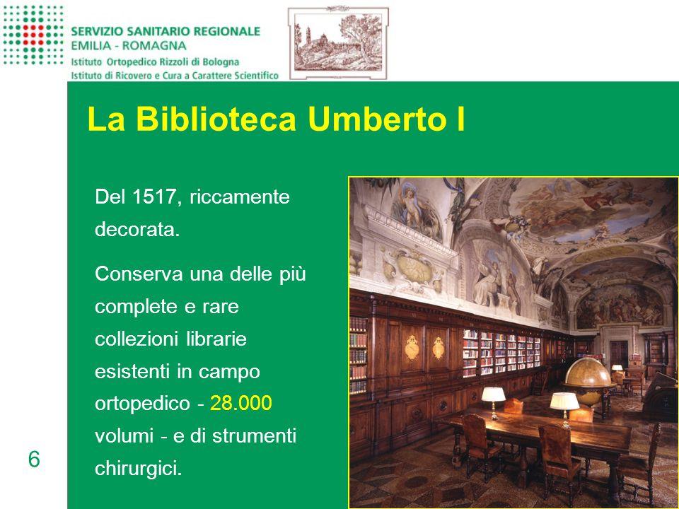La Biblioteca Umberto I