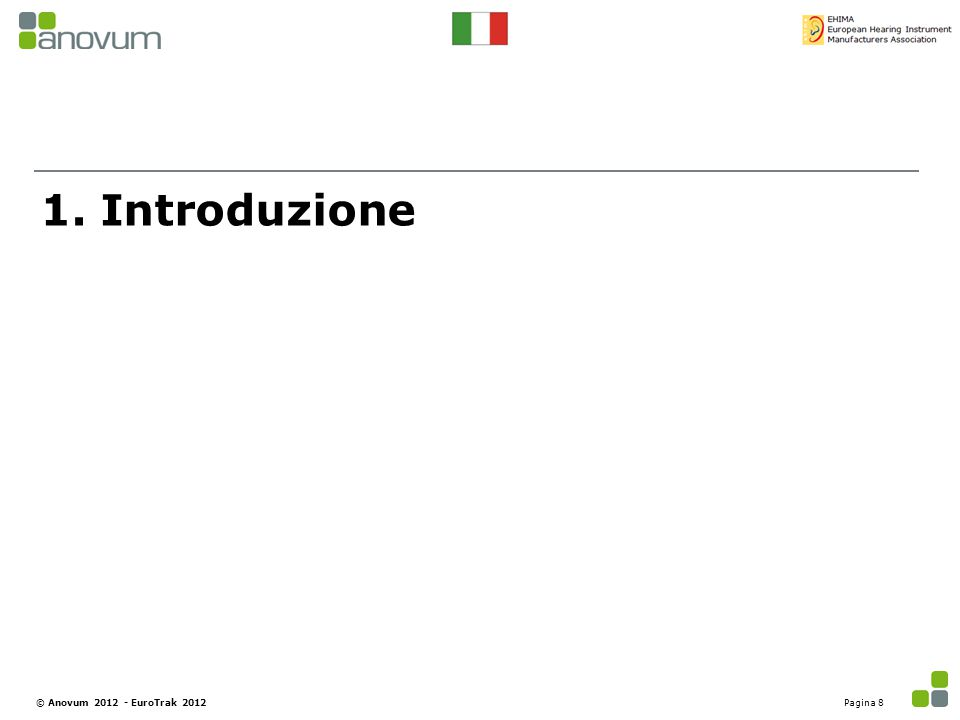 1. Introduzione © Anovum 2012 - EuroTrak 2012