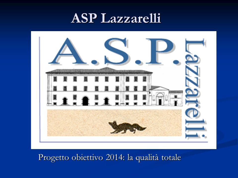 ASP Lazzarelli Progetto obiettivo 2014: la qualità totale