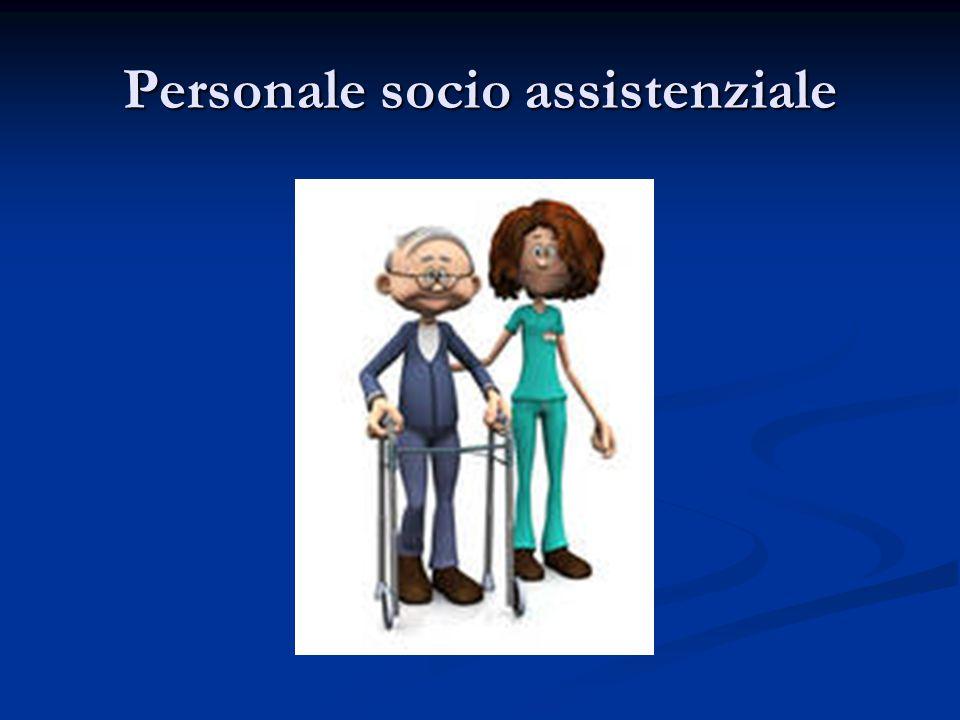 Personale socio assistenziale