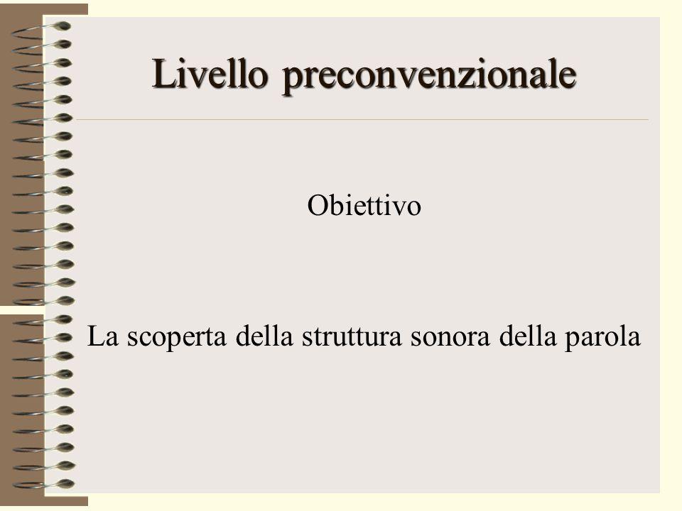 Livello preconvenzionale