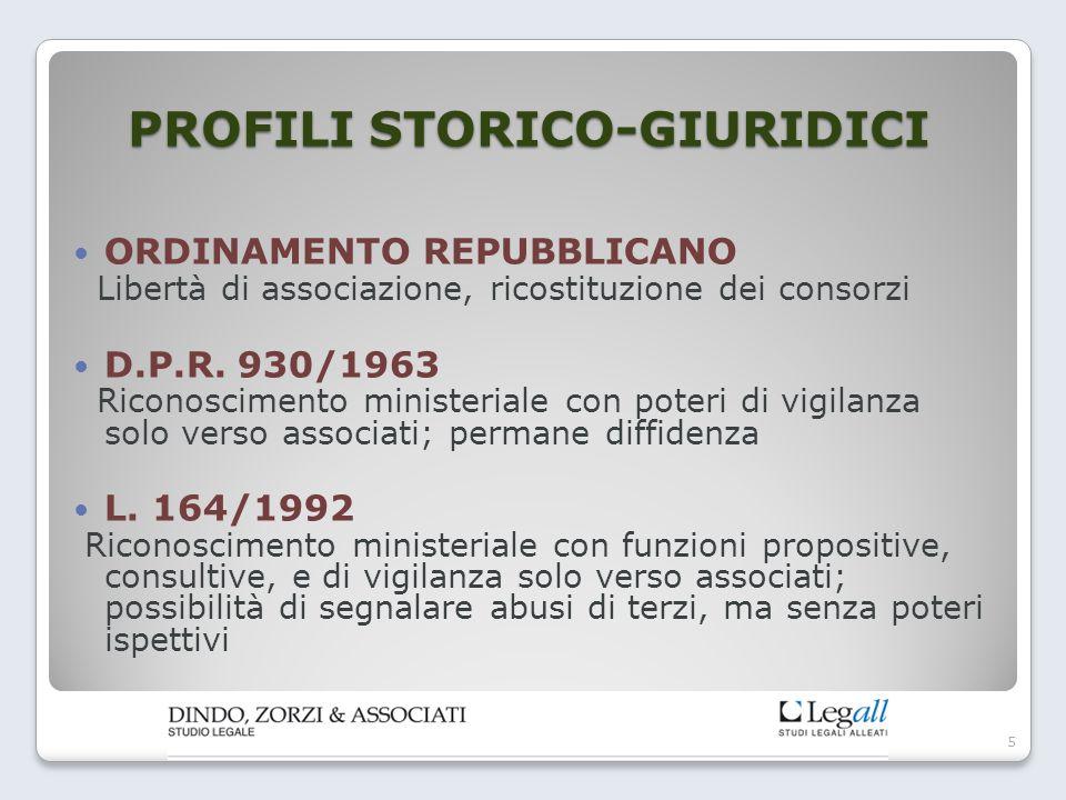 PROFILI STORICO-GIURIDICI