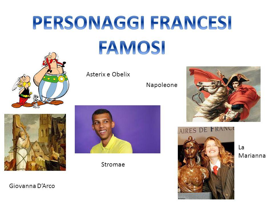 PERSONAGGI FRANCESI FAMOSI