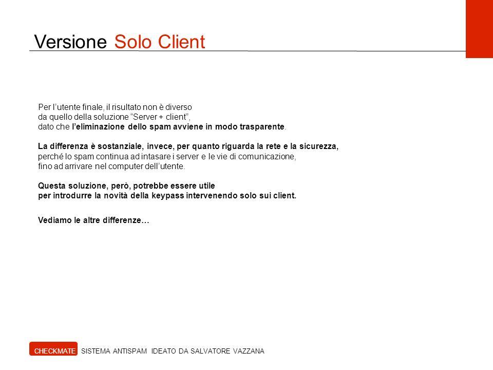 Versione Solo Client