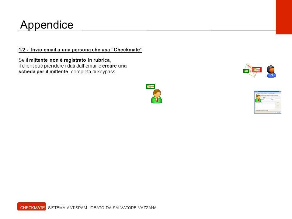 Appendice 1/2 - Invio email a una persona che usa Checkmate