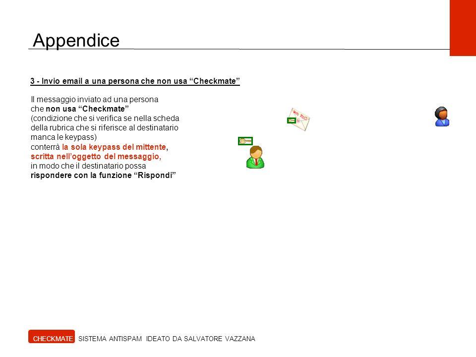 Appendice 3 - Invio email a una persona che non usa Checkmate