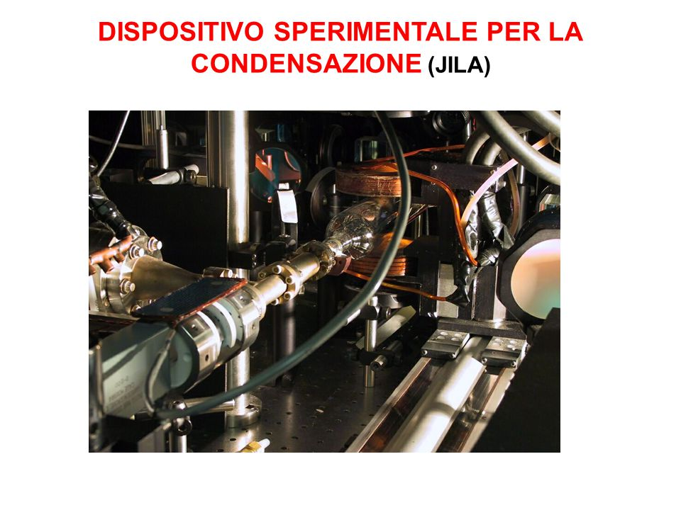 DISPOSITIVO SPERIMENTALE PER LA