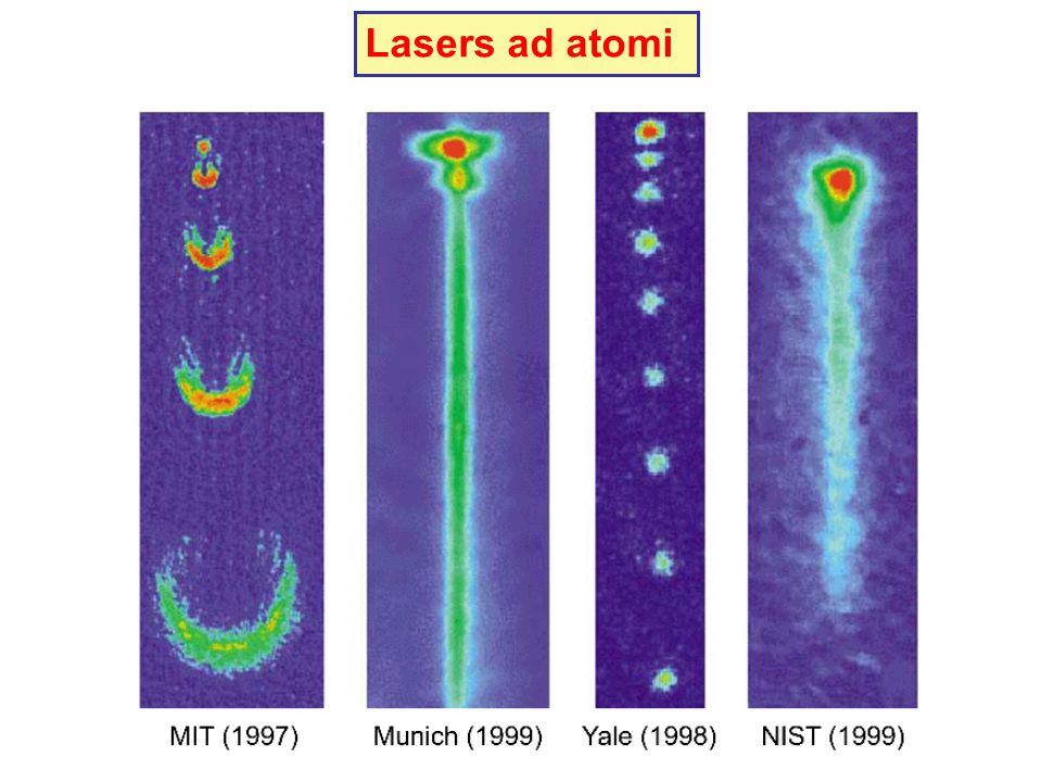 Lasers ad atomi