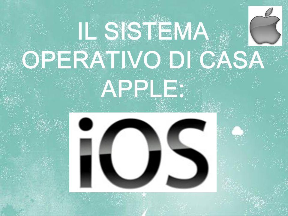 OPERATIVO DI CASA APPLE: