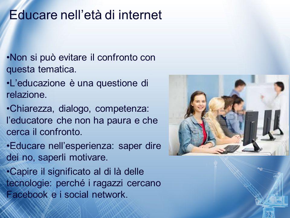 Educare nell'età di internet