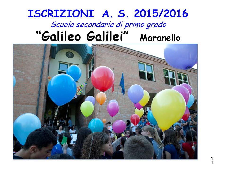 Galileo Galilei Maranello Istituto Comprensivo Ing Carlo Stradi