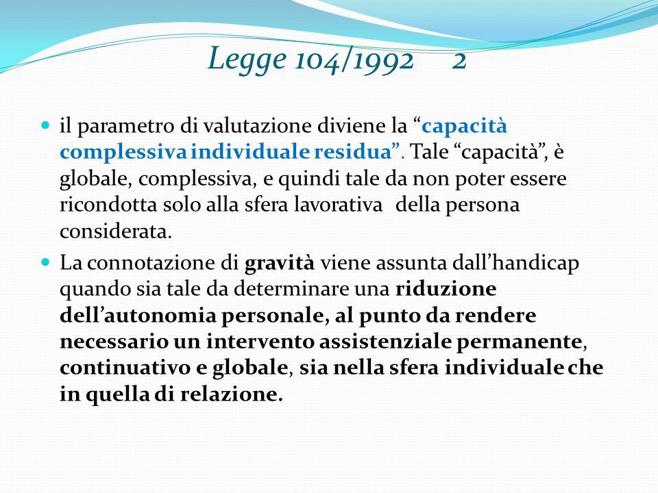 Legge 104/1992 2
