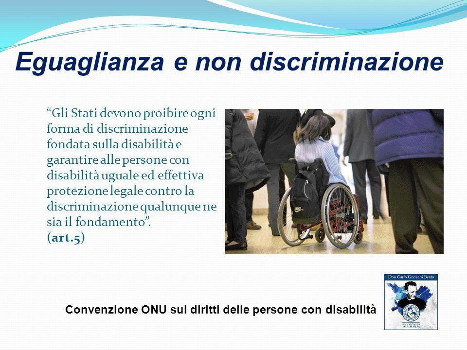Eguaglianza e non discriminazione