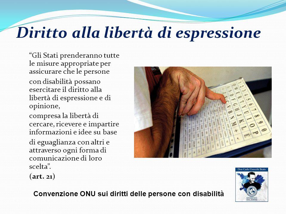 Diritto alla libertà di espressione