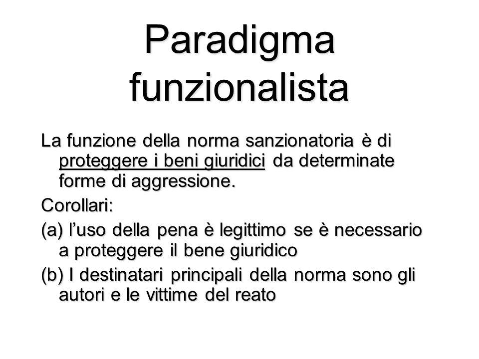 Paradigma funzionalista