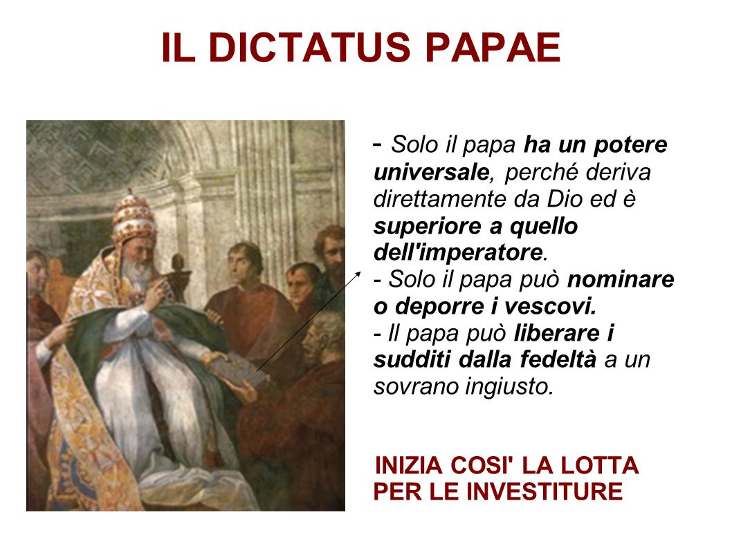 IL DICTATUS PAPAE