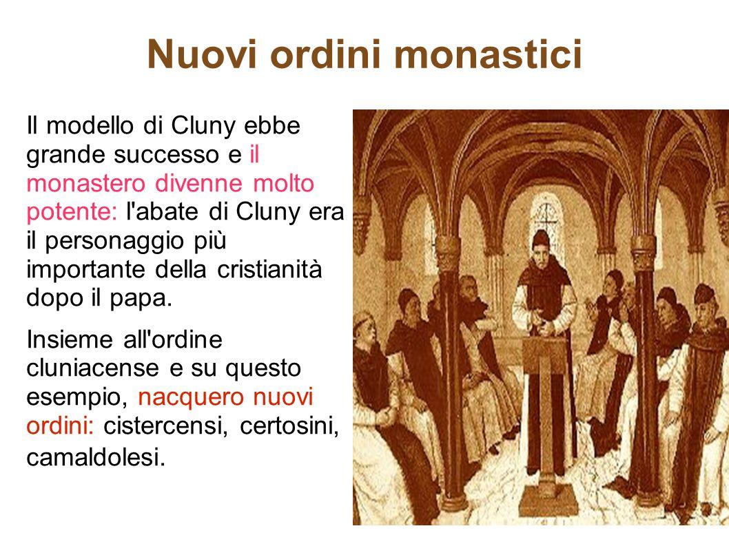 Nuovi ordini monastici