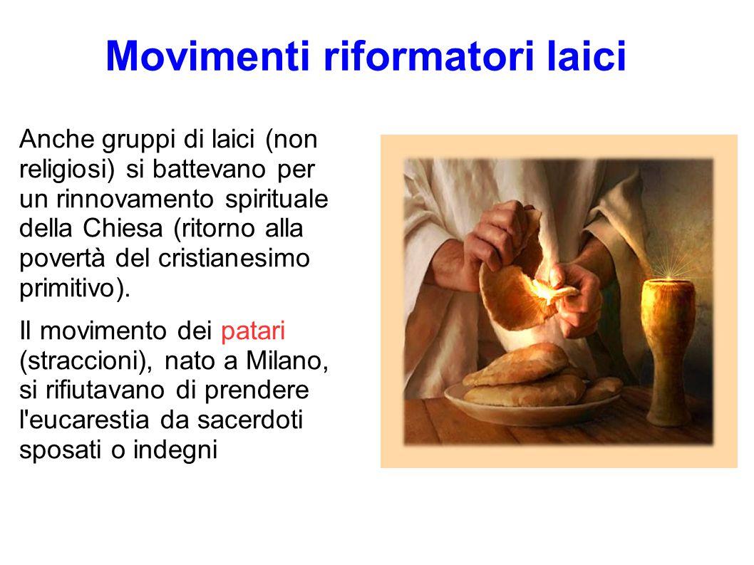 Movimenti riformatori laici