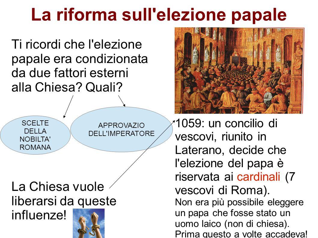 La riforma sull elezione papale
