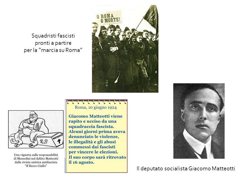 Il deputato socialista Giacomo Matteotti