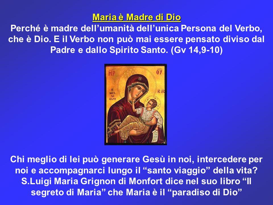 Maria è Madre di Dio