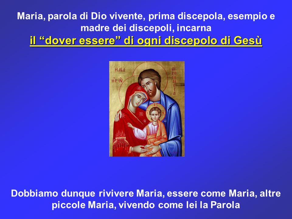 il dover essere di ogni discepolo di Gesù