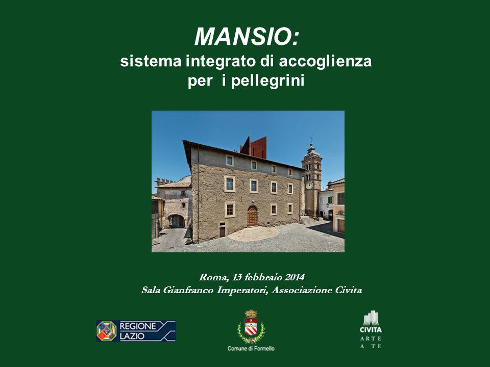 MANSIO: sistema integrato di accoglienza per i pellegrini