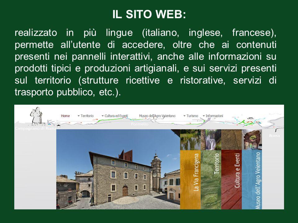 IL SITO WEB: