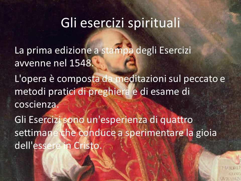 Gli esercizi spirituali