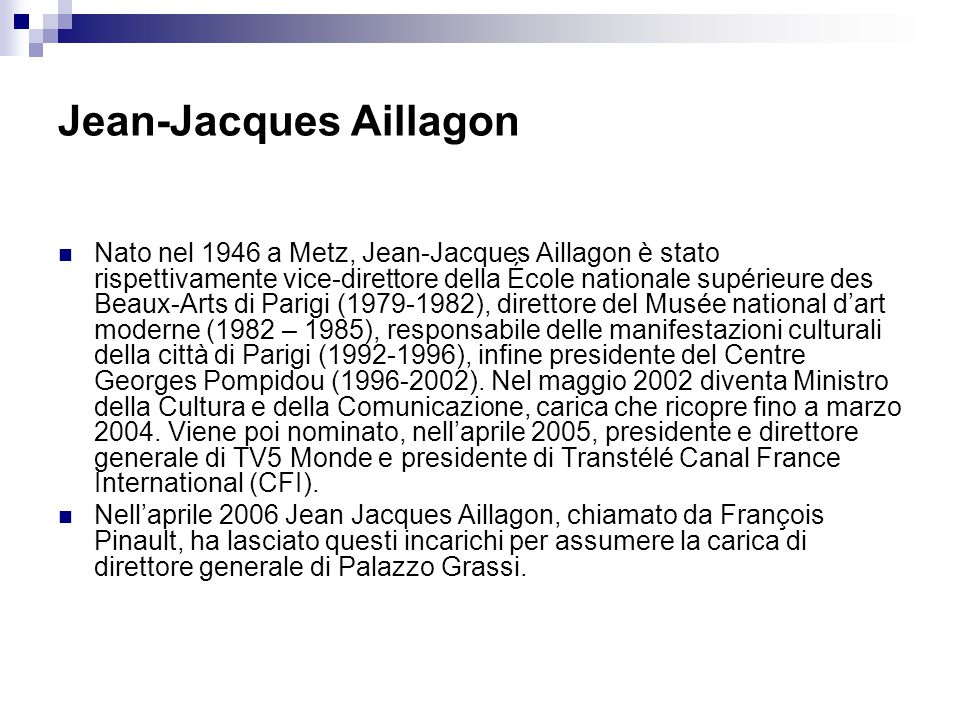 Jean-Jacques Aillagon