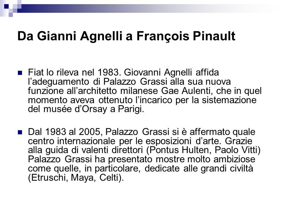 Da Gianni Agnelli a François Pinault