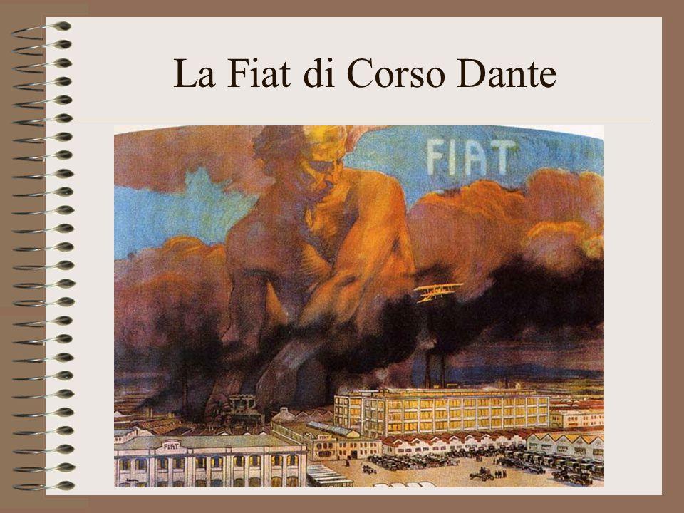 La Fiat di Corso Dante Manifesto del 1916
