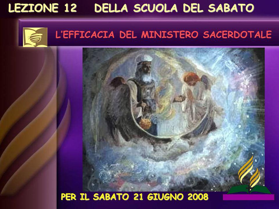 L'EFFICACIA DEL MINISTERO SACERDOTALE